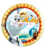 Krožniki OLAF Poletje - Frozen (8)