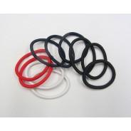 Elastike klasične močne brez kovine, 10-12 kosov, več barv