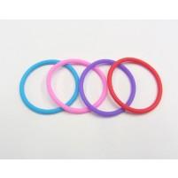 Silikonske elastike, barvne, 4 kosi - NOVO!