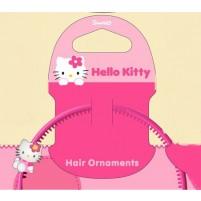 Obroč za lase ozek s figuro Hello Kitty