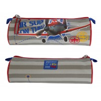 Toaletna torbica/puščica Avioni modra