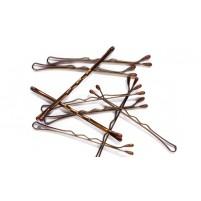 Vlasnice za lase klasične 4,5 cm (rjave, črne, zlate) 16-18 kosov