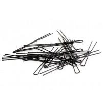 U-Vlasnice za lase 4cm črne ali rjave, 36 kosov