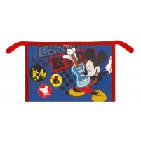 Toaletna torbica Mickey večja modra