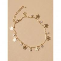 Anklet Chain 053 zlata