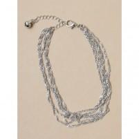 Anklet Chain 1002 srebrna