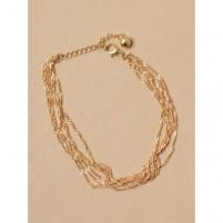 Anklet Chain 1003 zlata