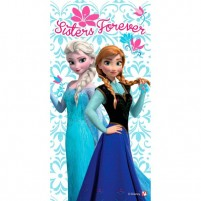 Brisača 70×140cm Frozen Sisters Forever (1)
