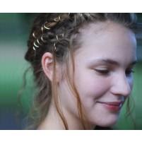 Hair rings Gold - NOVO!