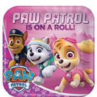 Krožniki Paw Patrol Roza (8)