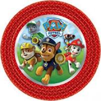 Krožniki Paw Patrol Rdeči (8)