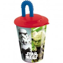 Kozarček XL s slamico Star Wars (1)