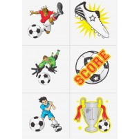 Temporary tattoos set Football 1