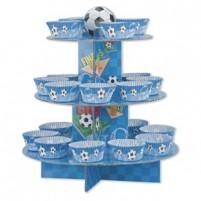 Stojalo za kolačke Nogomet modro