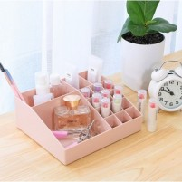 Organizator kozmetičnih pripomočkov roza 05