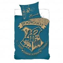 Posteljnina Harry Potter Hogwarts Blue - na zalogi, dostava takoj!
