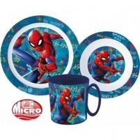 Set za zajtrk Spiderman, 3 kosi
