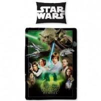 Posteljnina Star Wars Heroes  (po naročilu, 3-6 dni)