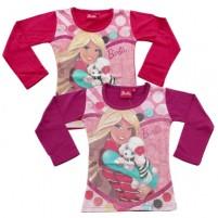 Majica Barbie Pets dolgi rokavi (vel. 92 in 98)
