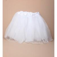 Belo krilce za balet ali plesne urice - tutu
