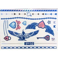 Shimmer tattoo UNCHAIN MY HEART Sapphire